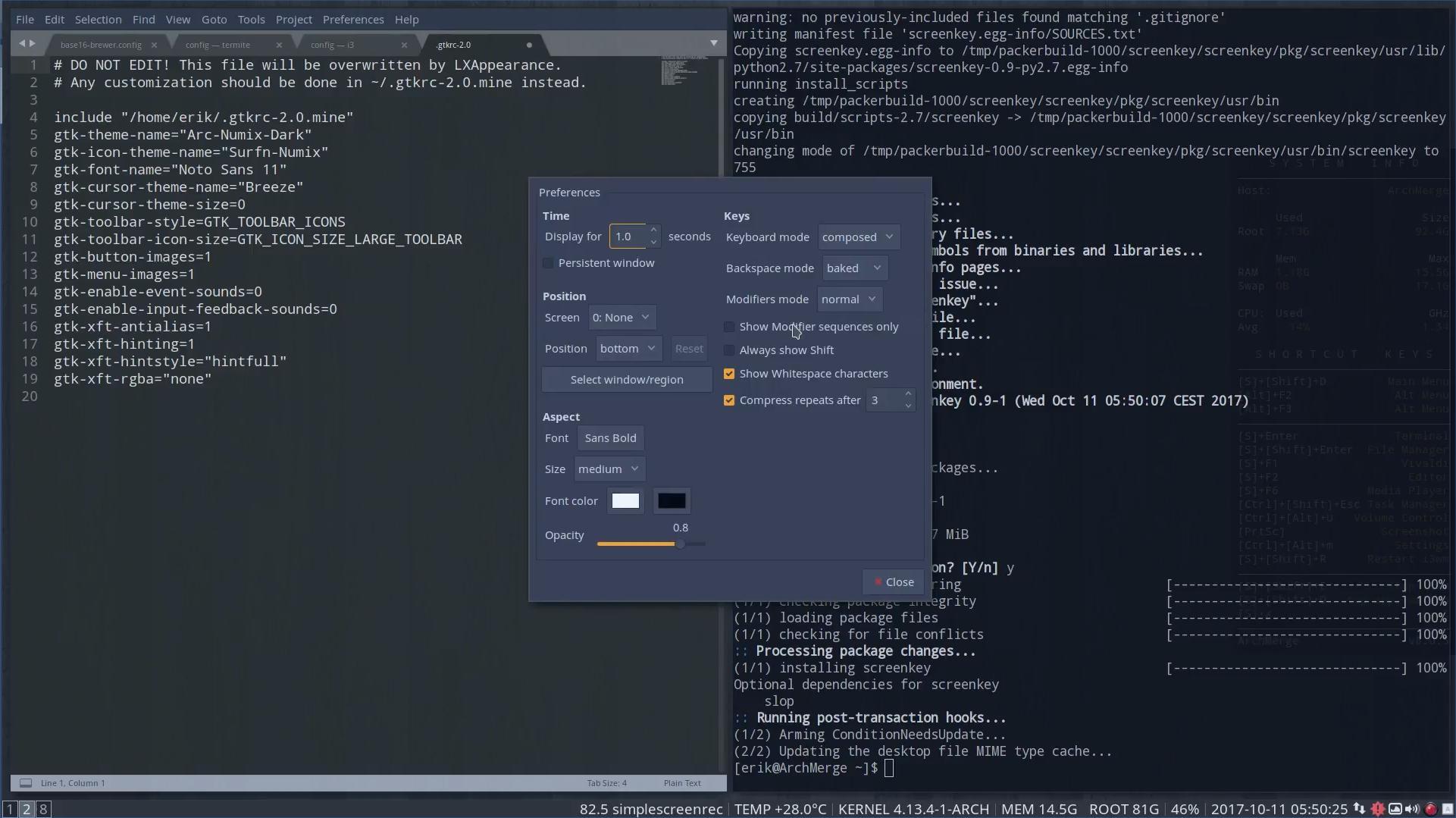 Openbox Theme Editor