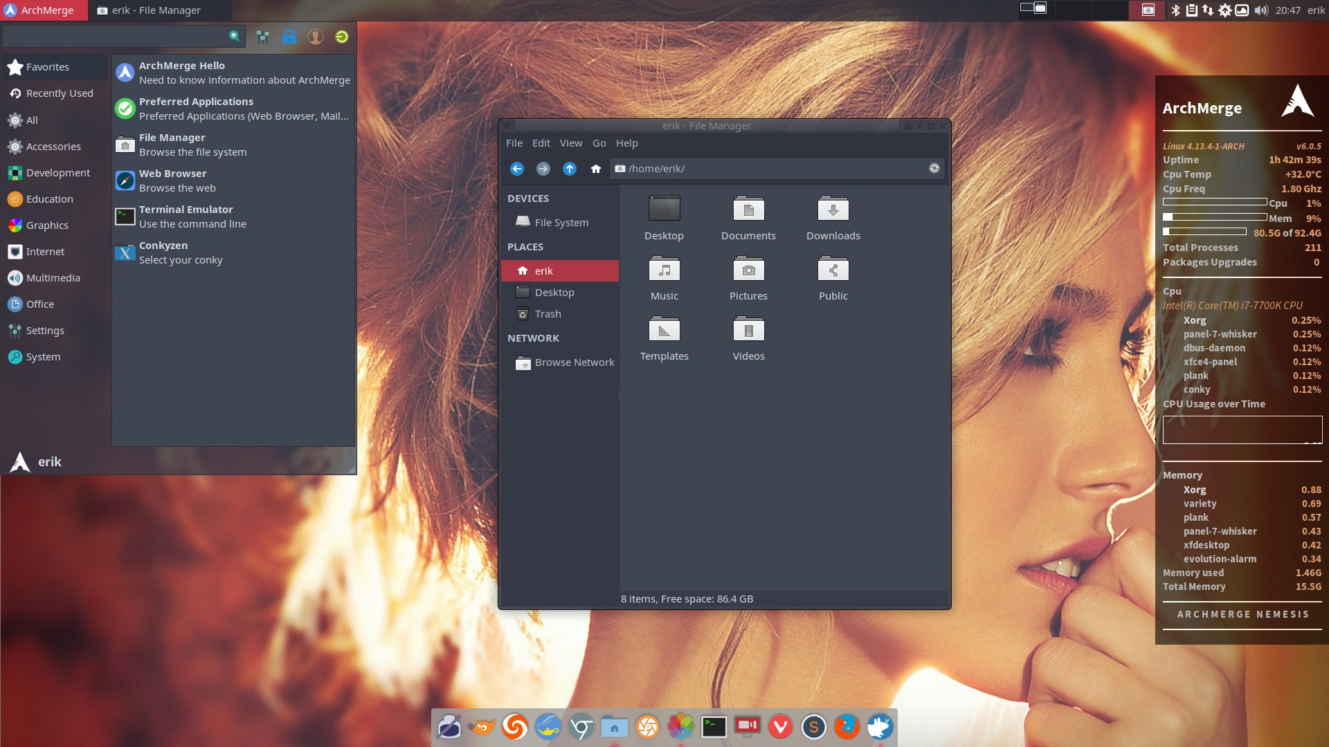 How to theme ArcoLinux Xfce any way you want