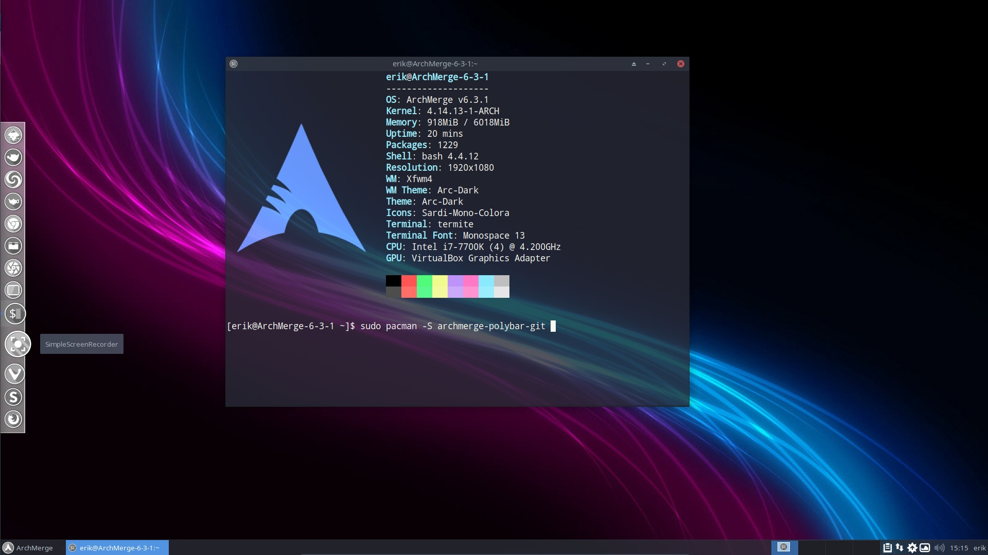 How to install polybar and use it on i3 and openbox