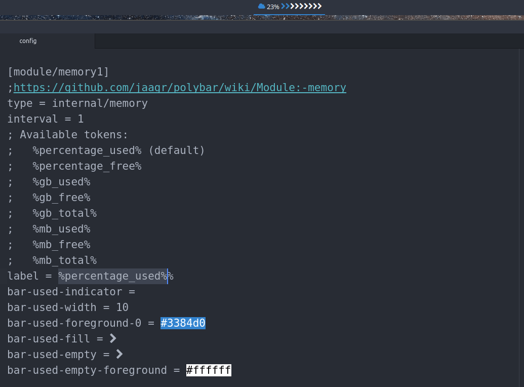 All modules that are available for polybar – any desktop | Arcolinux.com