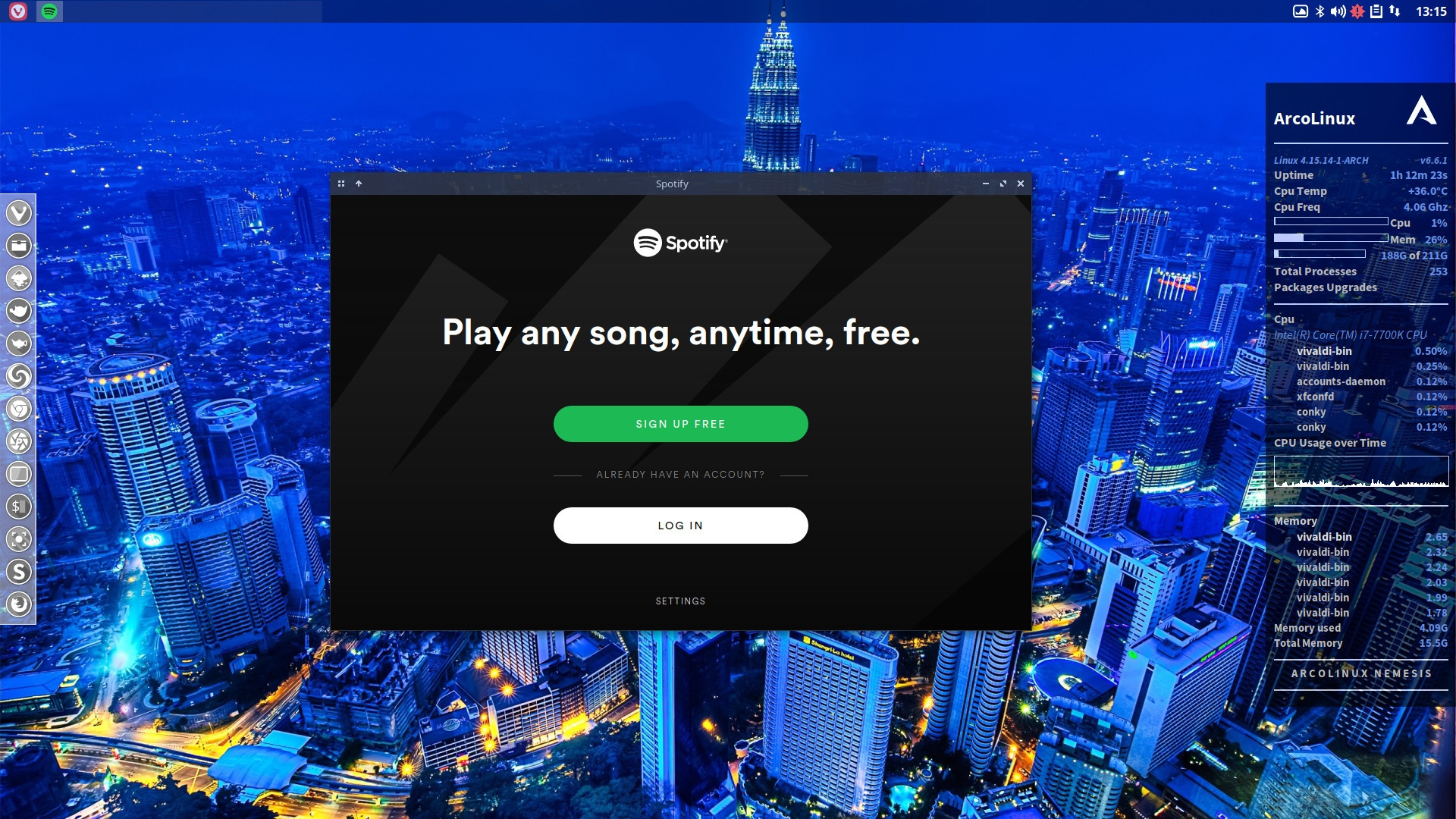 Fixing the pkgbuild of spotify or any other application