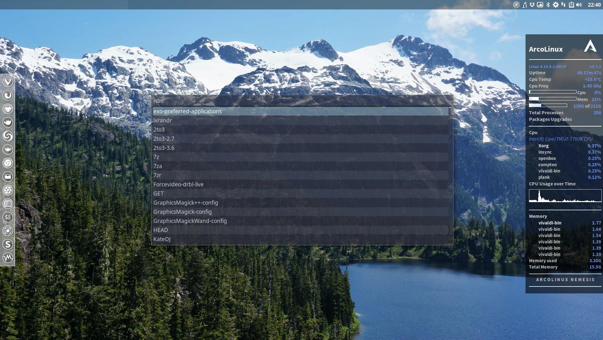 Rofi is an alternative application launcher | Arcolinux com