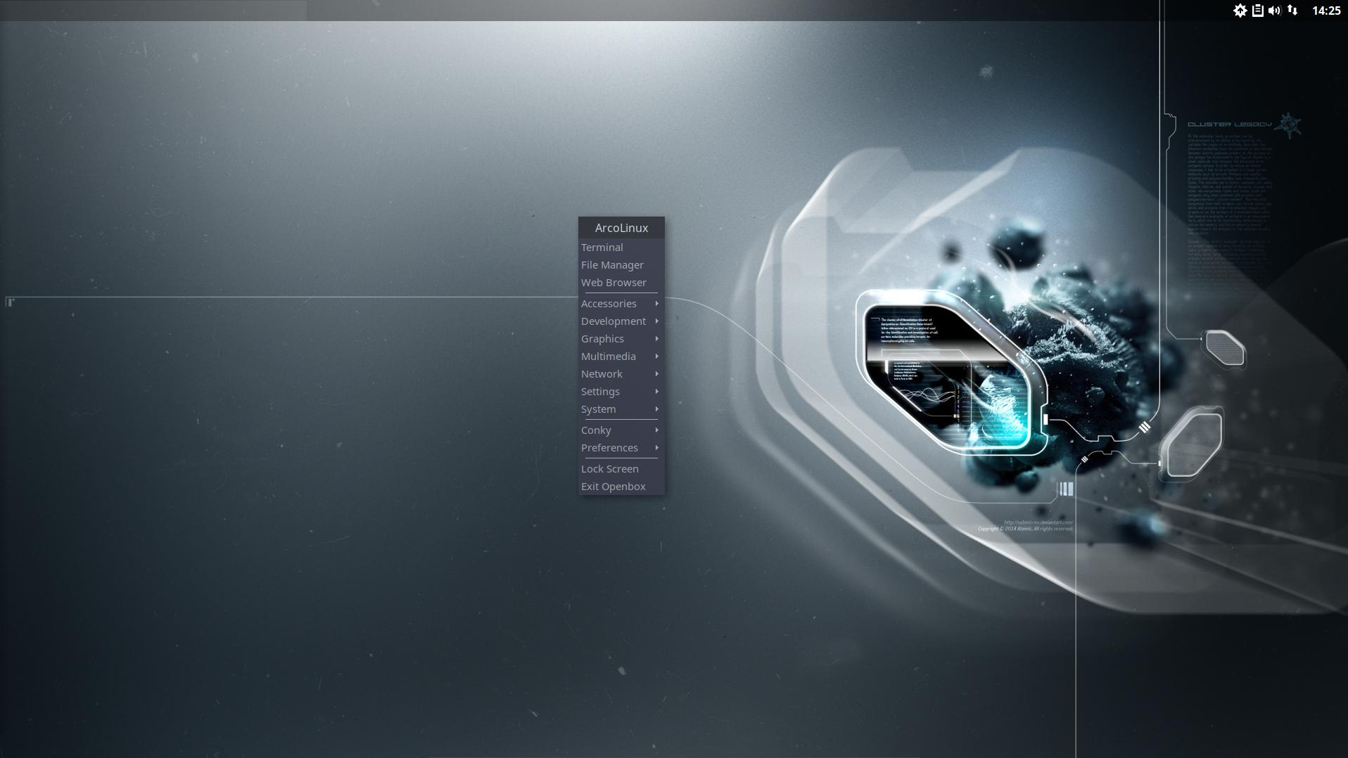 How to switch your Openbox menu to the Openbox Minimal menu