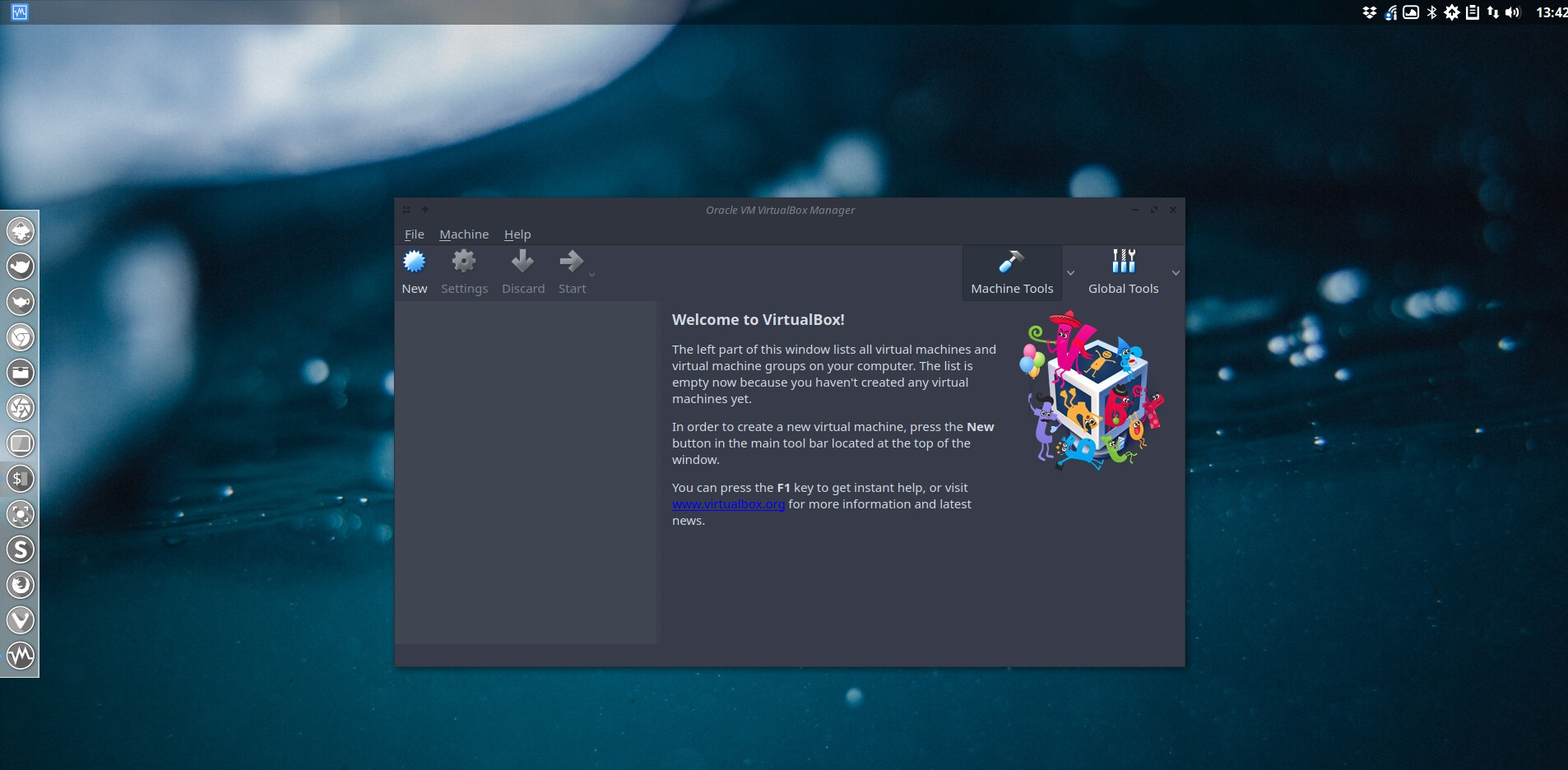 How to change the look of some applications with kvantum example virtualbox