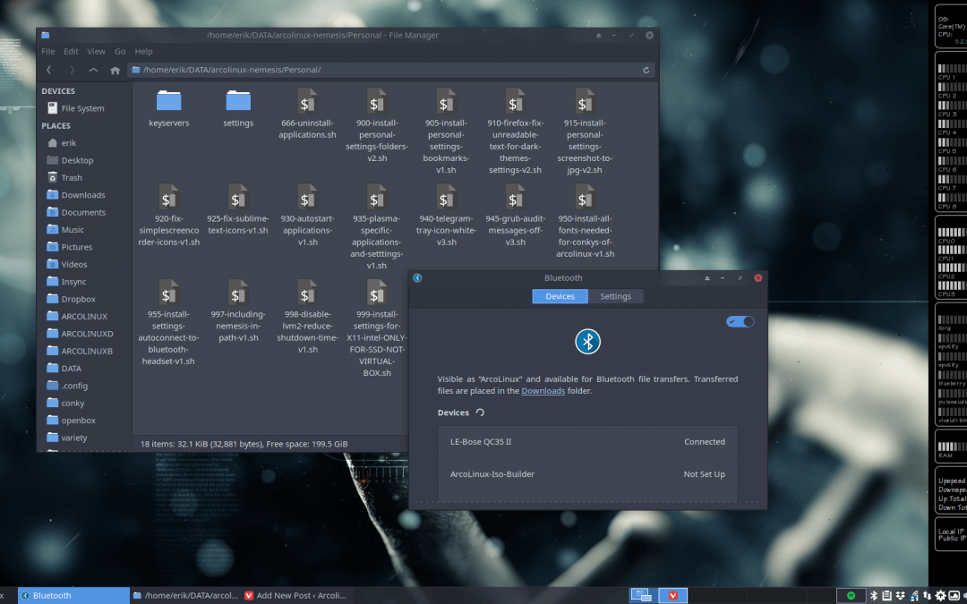 How to autoconnect your bluetooth headset to ArcoLinux – any desktop