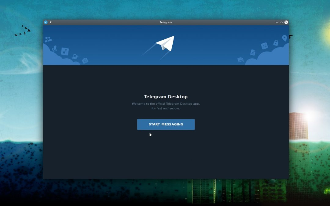 How to install telegram